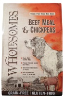 Wholesomes Beef Meal and Chickpeas Grain Free formula